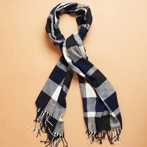 PLUSH plaid ultra soft scarf